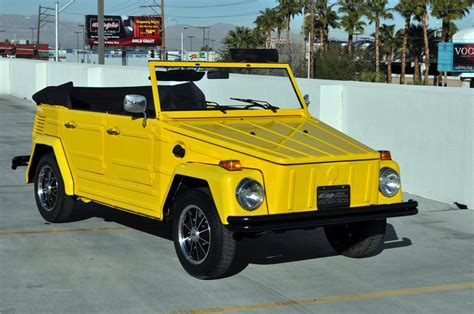 volkswagen thing 1973 volkswagen thing convertible 130438