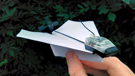 How To Make A Remote Paper Plane - on remote a paper plane with powerup 3 0