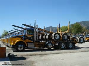 2007 kenworth log trucks autos post