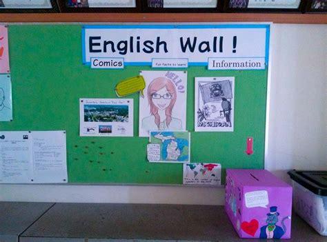 good themes english esl bulletin board ideas for jet program alts