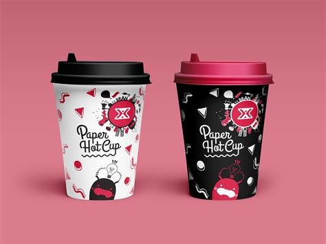 cup design paper cup design vol 2 white black is an item designed