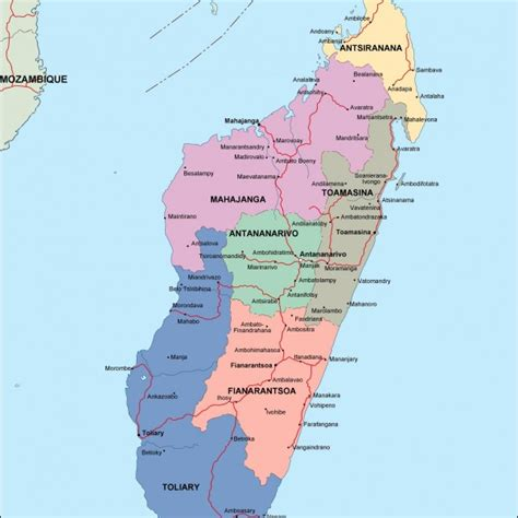 madagascar map madagascar country political map pictures inspirational pictures