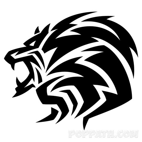 tribal lion tattoos designs 28 tribal designs tribal designs