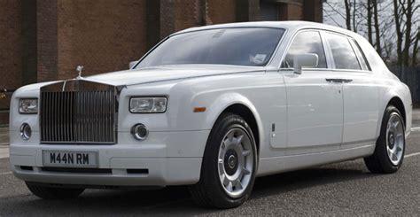 rolls royce white phantom silver rolls royce phantom wedding cars manns limousines