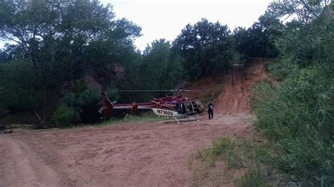 rescue utah remarkable landing skilled pilot lands in narrow slot during rescue