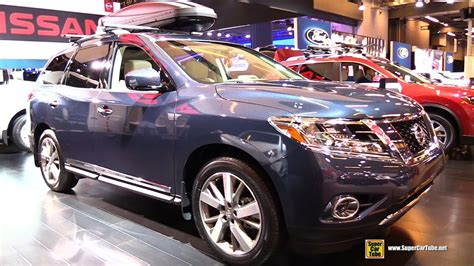 nissan pathfinder 2015 interior 2015 nissan pathfinder platinum 4wd exterior and