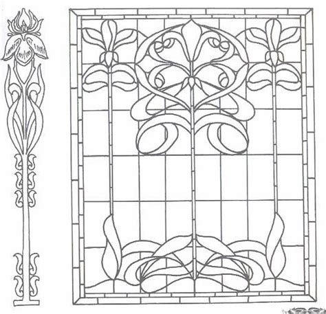 Printable Art Deco | free printable art nouveau and art deco patterns collection