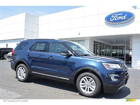 2016 ford explorer blue 2016 blue metallic ford explorer xlt 113228100