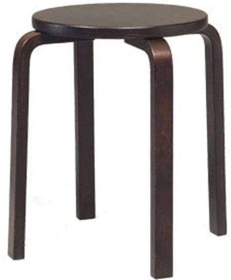 Bentwood Stacking Stools by Linon 1771weng 04 As Bentwood 17 1 2 Inch Stacking Stool