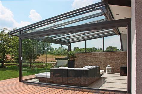 pavillon mit schrägdach einzigartig terrasse aus stahl design ideen