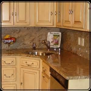 granite countertops w a granite backsplash yelp