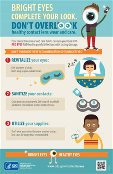 healthy contact lens wear | features | cdc