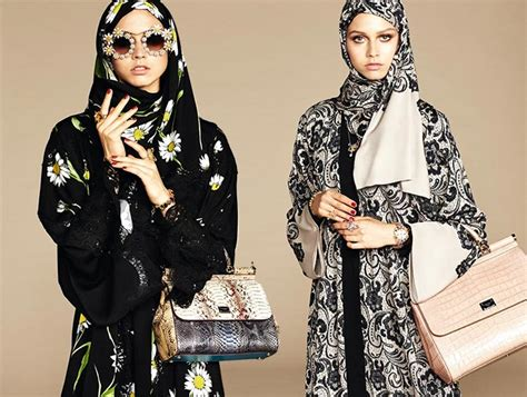 Daster Arab Dolce Prada Dolce Gabbana Launches Abayas And Hijabs For Arab