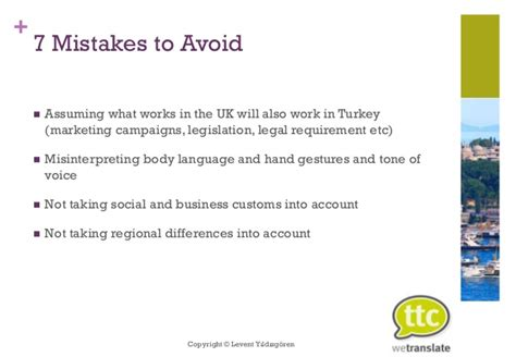 7 Mistakes Make At And How To Avoid Them by 7 Mistakes To Avoid When Doing Business In Turkey