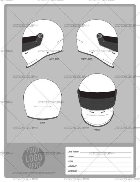 racing helmet design template helmet template pack 1 school of racing graphics