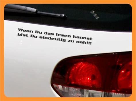 Lustige Autoaufkleber F R Frauen by Autoaufkleber Spr 252 Che Wenn Du Das Lesen Kannst Bist Du