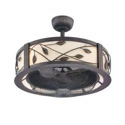 Ceiling Fan With Remote And Light Kit Shop Allen Roth Eastview 23 In Aged Bronze Downrod Mount