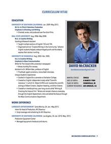Cv In Photo Curriculum Vitae Resume Cv