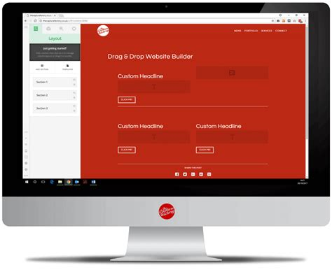 html design drag and drop drag drop website builder the capture factory