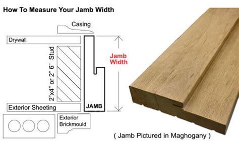 Door Jamb Size by Mai Doors A798gs 1 2 96 Quot Exterior Andean Walnut Door