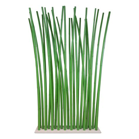 bamboo room dividers green bamboo room divider on white steel base plate 100 x