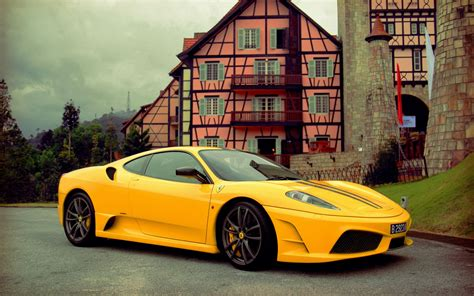 ferrari yellow wallpaper ferrari 458 italia yellow vintage hd desktop wallpapers