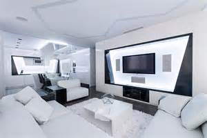 Freshome Futuristic Axioma Apartment In Black And White By