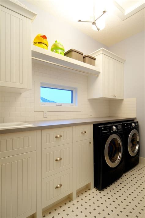 Bead Board Bathroom by Beadboard Laundry Room Cabinets Cottage Laundry Room