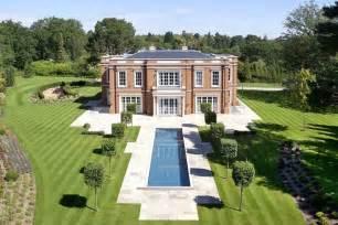 Eclectic Chandeliers Exquisite Crossacres Mansion In Surrey England