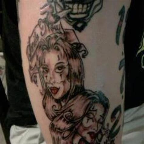 female joker tattoo meaning female clown cool tattoos meanings for men and women