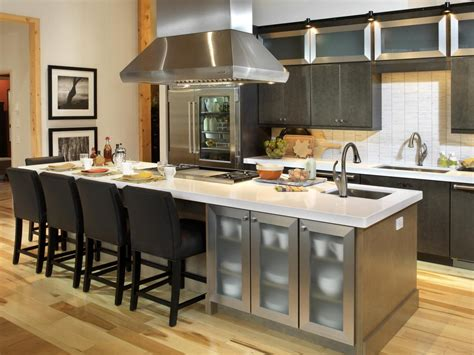 cooking islands for kitchens kitchen islands with seating pictures ideas from hgtv hgtv