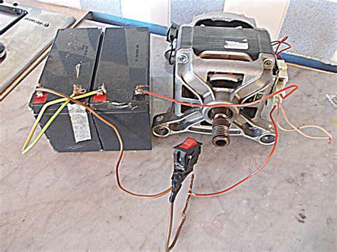 Motore Lavatrice Funzionamento by Thriller Monopattino Con Motore Della Lavatrice