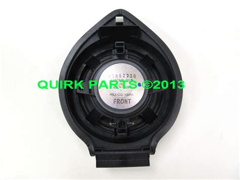 Speaker Gmc Buat Motor chevy silverado gmc front door speaker oem new genuine for 2014 chevrolet silverado