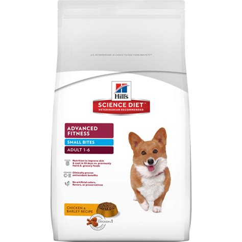 science diet puppy small bites hill s 174 science diet 174 advanced fitness small bites