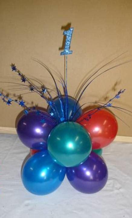 Balloon Birthday Centerpiece Ideas On Pinterest Balloon Balloons Centerpieces For Tables