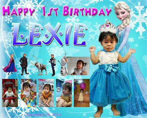 frozen wallpaper for tarpaulin frozen birthday tarpaulin pictures to pin on pinterest