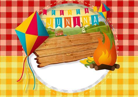 Modelo De Convite Para Festa Photoshop E Arte Convites Convite Festa Junina 2 Cing Amigos