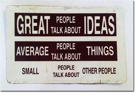 themes to talk about quote great people talk about ideas lily velden