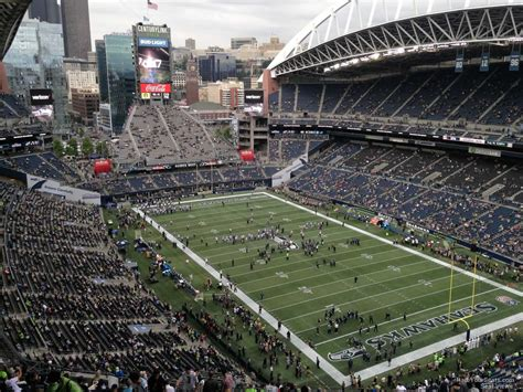 what sections are covered at centurylink field centurylink field section 327 seattle seahawks
