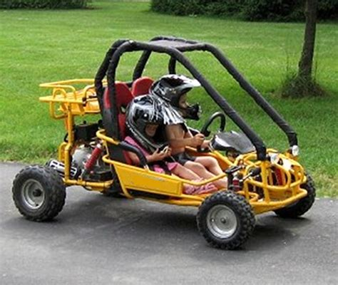 Blus Sp 110 12 tao tao gk110 110cc seater youth go kart fully