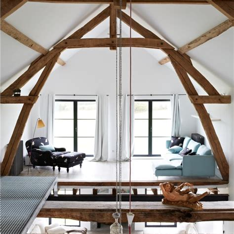 Living Room With Mezzanine mezzanine living room be inspired by a rustic retreat housetohome co uk