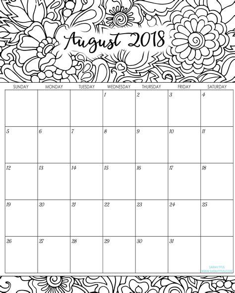 Galerry 2018 cute printable planner pdf