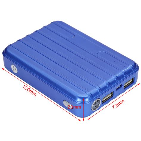 external cellphone battery charger 20000mah usb portable external battery charger power bank