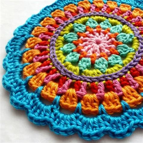 Imagenes Mandalas A Crochet | 25 unique crochet mandala ideas on pinterest mandala