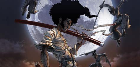 Oceanseven Tshirt Anime Samurai X 13 afro samurai mega identi