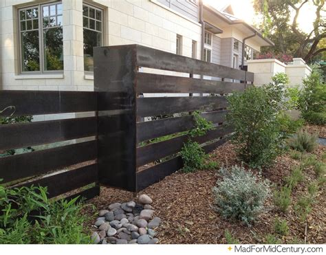 modern fence pictures and ideas mad for mid century mid century modern fence ideas from