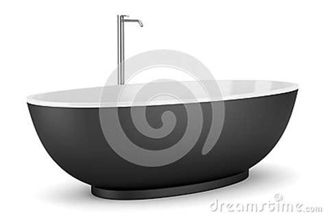 schwarze badewanne moderne schwarze badewanne getrennt auf wei 223