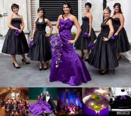 purple and black wedding dress purple and black wedding dress