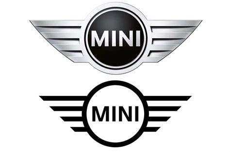 bentley vs chrysler logo mini brand gets revised logo for 2018 motor trend