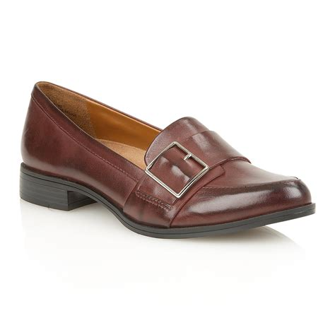 naturalizer flat shoes naturalizer melanie flat shoes in brown lyst